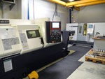 Machining centre with Y-axis